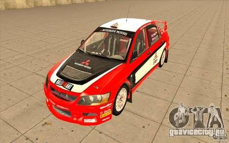 Mitsubishi Lancer Evo IX DiRT2 для GTA San Andreas