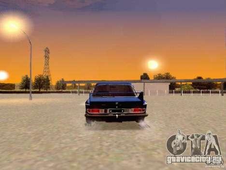 BMW 30 CSL Drift для GTA San Andreas вид сзади слева