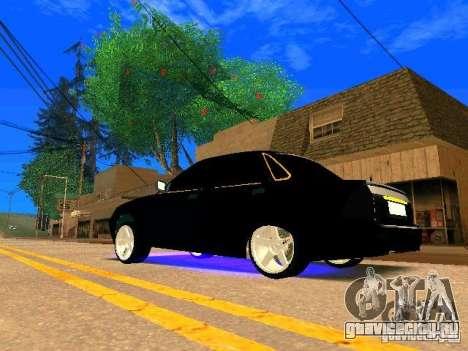 ВАЗ 2170 Приора Gold Edition для GTA San Andreas вид справа
