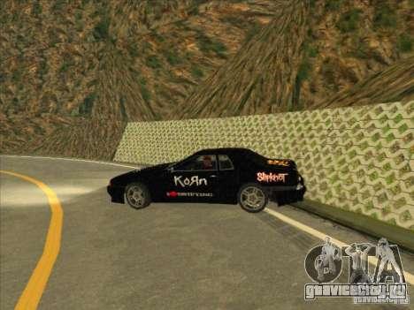Metal Drift Винил для GTA San Andreas вид справа