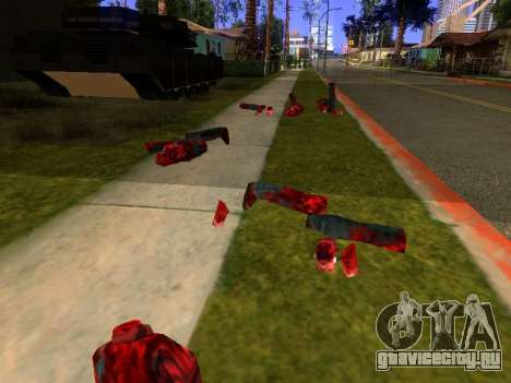 Резня бензопилой v.2.0 для GTA San Andreas четвёртый скриншот