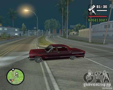Новые значки карты для GTA San Andreas третий скриншот