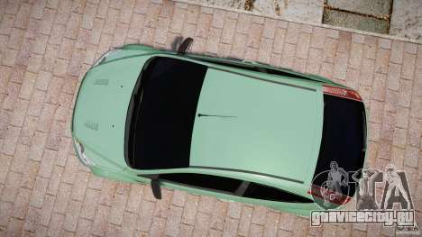 Ford Focus RS для GTA 4 вид справа