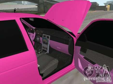 Лада Приора Эмо для GTA San Andreas вид сбоку