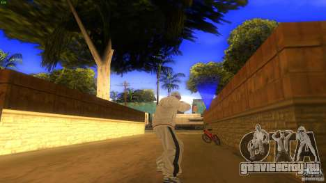 BrakeDance mod для GTA San Andreas третий скриншот