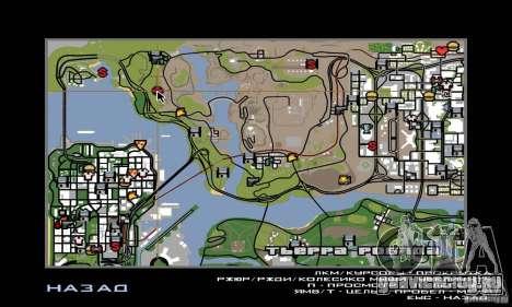 Райончик в пустыне для GTA San Andreas пятый скриншот