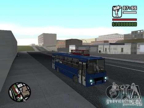 Ikarus 260.51 для GTA San Andreas вид сзади слева