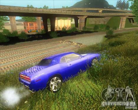 Dodge Challenger concept для GTA San Andreas вид справа