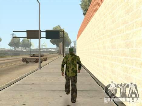 Камуфляжная куртка для GTA San Andreas пятый скриншот