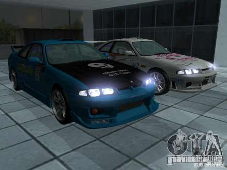 Nissan Skyline R 33 GT-R для GTA San Andreas вид сбоку