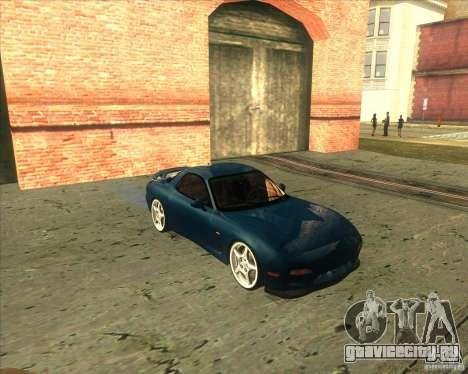 Mazda RX 7 для GTA San Andreas вид слева