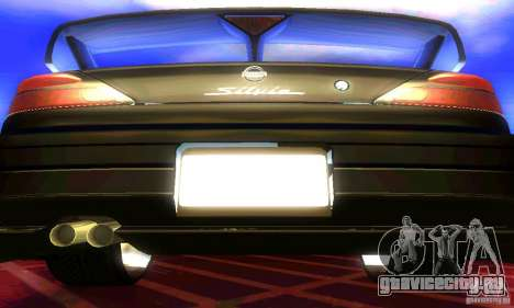 Nissan Silvia S15 8998 Edition Tunable для GTA San Andreas вид изнутри