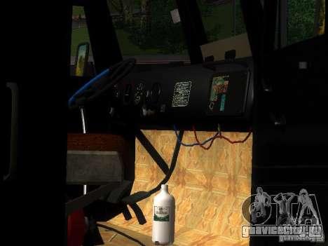 КрАЗ-255Б для GTA San Andreas вид сверху