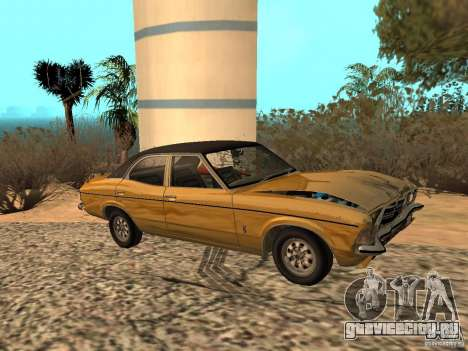 Ford Cortina MK 3 Life On Mars для GTA San Andreas вид сзади