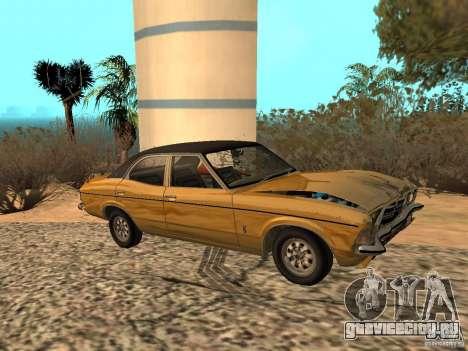 Ford Cortina MK 3 Life On Mars для GTA San Andreas вид сзади