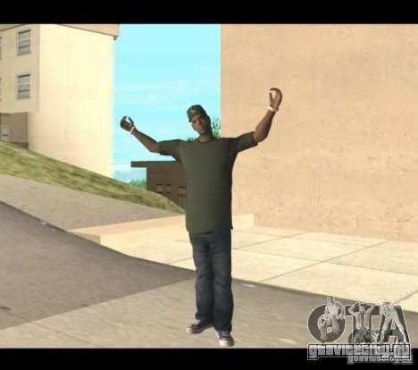 Family Skins Pack для GTA San Andreas шестой скриншот