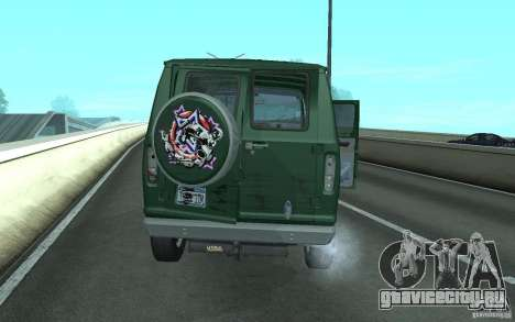 Ford E-150 Short Version v2 для GTA San Andreas вид сзади