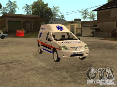 Dacia Logan Ambulanta для GTA San Andreas