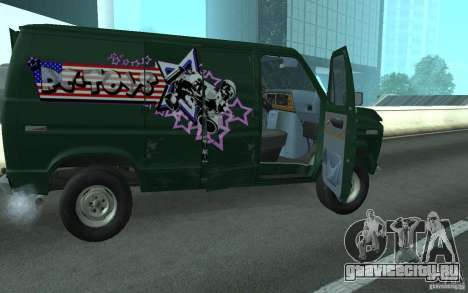 Ford E-150 Short Version v1 для GTA San Andreas вид сзади слева