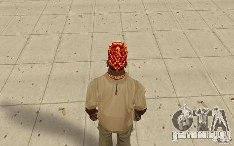 Бандана halloween для GTA San Andreas третий скриншот