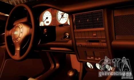 Audi RS2 Avant Thug для GTA San Andreas вид сбоку