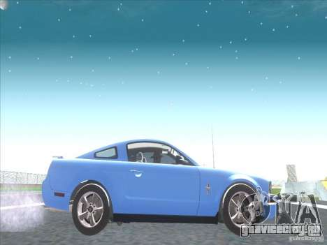 Ford Mustang Pony Edition для GTA San Andreas вид сзади