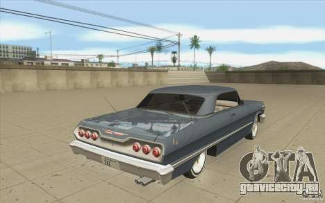 Voodoo для GTA San Andreas вид сбоку
