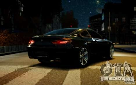 BMW 640i F12 для GTA 4 вид сзади