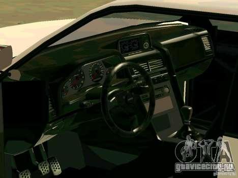 New Sultan v1.0 для GTA San Andreas салон