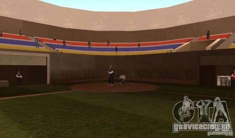 Оживленное Бейсбольное Поле для GTA San Andreas