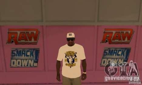 Кепка John Cena для GTA San Andreas