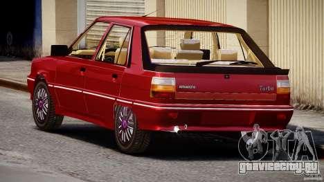Renault Flash Turbo 11 для GTA 4 вид сбоку