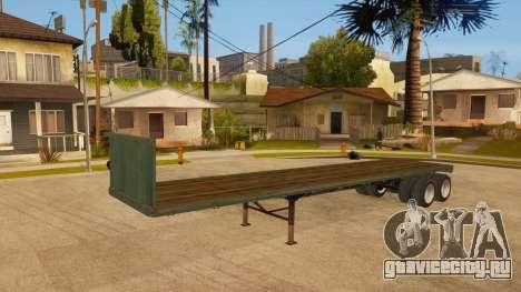Трал для GTA San Andreas вид сзади