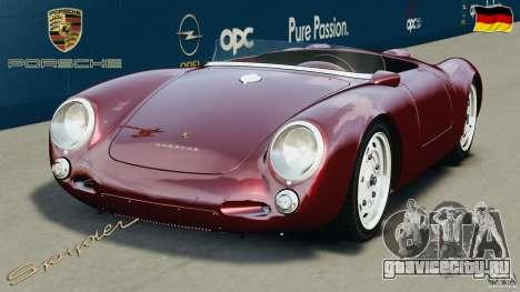 Porsche 550 A Spyder 1956 v1.0 для GTA 4