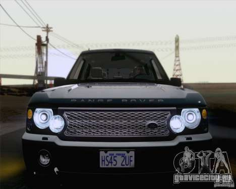 Land Rover Range Rover Supercharged 2008 для GTA San Andreas вид сбоку