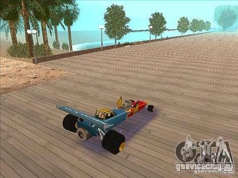 Dragg car для GTA San Andreas вид сзади слева