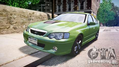 Ford Falcon XR8 2007 Rim 1 для GTA 4