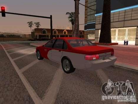 Chevrolet Impala SS 1995 для GTA San Andreas вид снизу