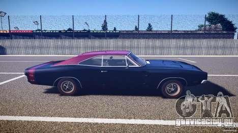 Dodge Charger RT 1969 v1.0 для GTA 4 вид изнутри