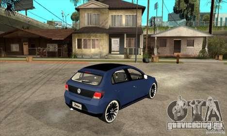 Volkswagen Gol Vintage для GTA San Andreas
