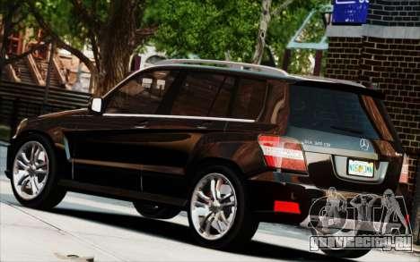 Mercedes-Benz GLK 320 CDI для GTA 4 вид сзади