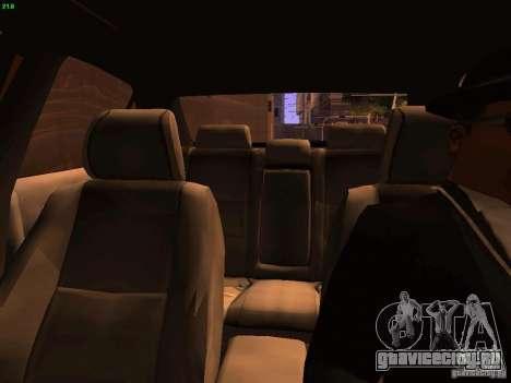 Lexus IS300 Taxi для GTA San Andreas вид сверху