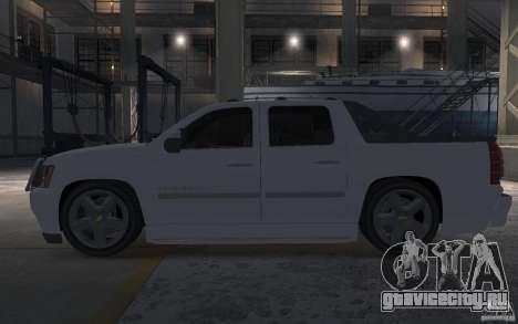 Chevrolet Avalanche v1.0 для GTA 4 вид слева