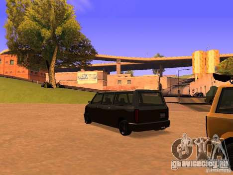 Moonbeam NN для GTA San Andreas вид слева