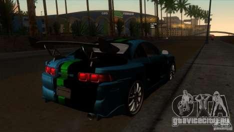 Toyota MR2 Drift для GTA San Andreas вид справа