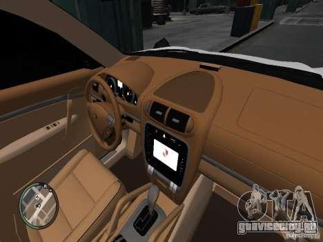 Porsche Cayenne Turbo 2003 v.2.0 для GTA 4 вид сзади