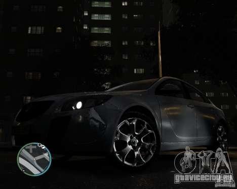 Vauxhall Insignia v1.0 для GTA 4 вид справа