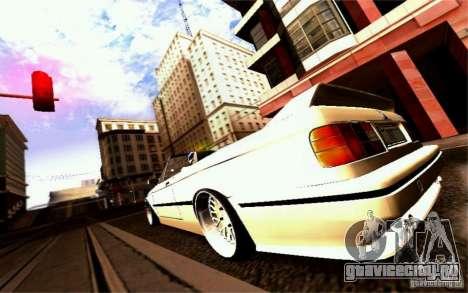 BMW E30 M3 Cabrio для GTA San Andreas двигатель