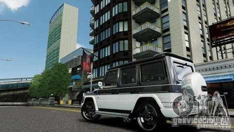 Mercedes-Benz G500 для GTA 4 вид сзади слева