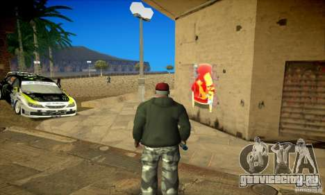 Simpson Graffiti Pack v2 для GTA San Andreas седьмой скриншот